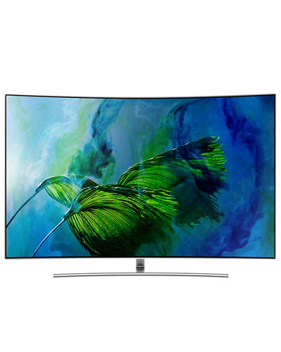 Samsung QE55Q8CAM QLED 4K Curved Smart TV 8 серии